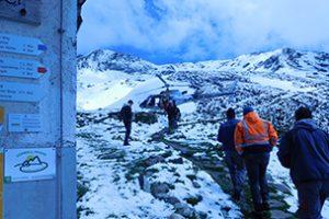 Sanierung der Abwasserbehandlung einer alpinen Hütte