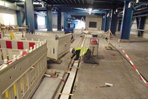 Neubau eines Produktionsgebäudes der chem. Industrie
