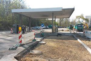 Gesamt-Sanierung einer Eigenverbrauchs-Tankstelle für Dieselkraftstoff und AdBlue.