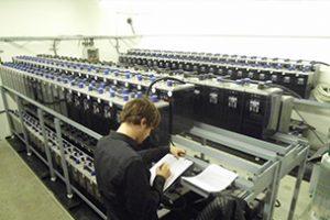 Sicherheitsprüfung von Batterieräumen zur Notstromversorgung